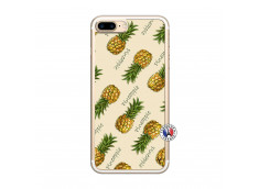Coque iPhone 7 Plus/8 Plus Sorbet Ananas Translu