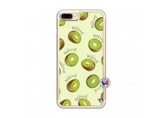 Coque iPhone 7 Plus/8 Plus Sorbet Kiwi Translu