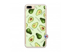 Coque iPhone 7 Plus/8 Plus Sorbet Avocat Translu