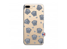 Coque iPhone 7 Plus/8 Plus Petits Elephants
