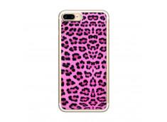 Coque iPhone 7 Plus/8 Plus Pink Leopard Translu