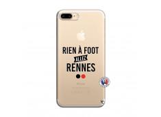 Coque iPhone 7 Plus/8 Plus Rien A Foot Allez Rennes