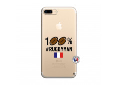 Coque iPhone 7 Plus/8 Plus 100% Rugbyman