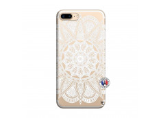Coque iPhone 7 Plus/8 Plus White Mandala