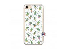 Coque iPhone 7/8 Le Monde Entier est un Cactus Translu