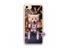 Coque iPhone 7/8 Cat Nasa Translu