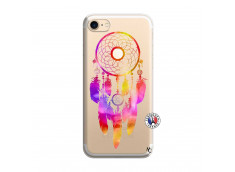 Coque iPhone 7/8 Dreamcatcher Rainbow Feathers