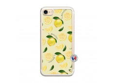 Coque iPhone 7/8 Sorbet Citron Translu