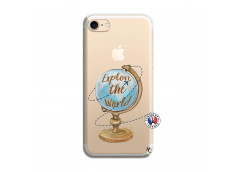 Coque iPhone 7/8 Globe Trotter
