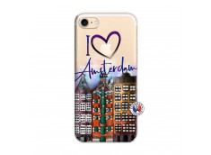 Coque iPhone 7/8 I Love Amsterdam