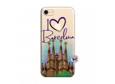 Coque iPhone 7/8 I Love Barcelona