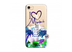 Coque iPhone 7/8 I Love Miami