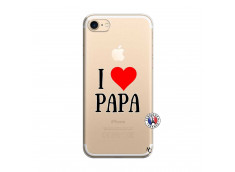 Coque iPhone 7/8 I Love Papa
