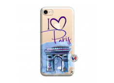 Coque iPhone 7/8 I Love Paris Arc Triomphe