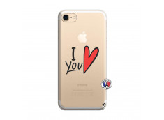 Coque iPhone 7/8 I Love You