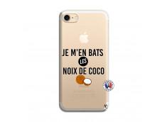 Coque iPhone 7/8 Je m'en bats Les Noix De Coco