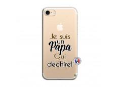 Coque iPhone 7/8 Je Suis Un Papa Qui Dechire