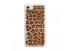 Coque iPhone 7/8 Leopard Style Translu