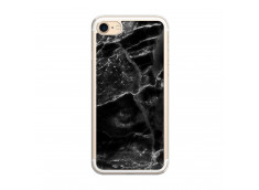 Coque iPhone 7/8 Black Marble Translu