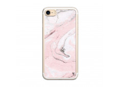 Coque iPhone 7/8 Marbre Rose Translu