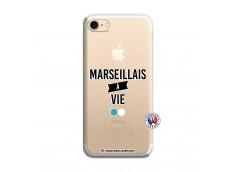 Coque iPhone 7/8/SE 2020 Marseillais à Vie