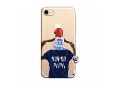 Coque iPhone 7/8 Papa Super Heros