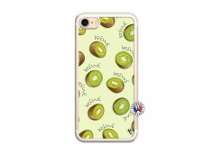 Coque iPhone 7/8 Sorbet Kiwi Translu