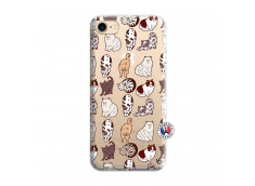 Coque iPhone 7/8/se 2020 Cat Pattern