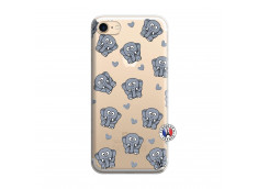 Coque iPhone 7/8/se 2020 Petits Elephants