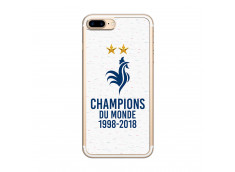 Coque iPhone 7Plus/8Plus Champions du Monde