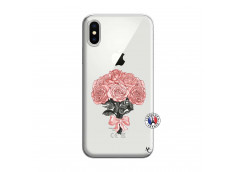 Coque iPhone X/XS Bouquet de Roses