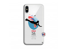 Coque iPhone X/XS Coupe du Monde Rugby Fidji