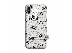 Coque iPhone X/XS Cow Pattern