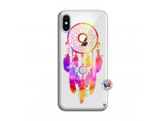 Coque iPhone X/XS Dreamcatcher Rainbow Feathers