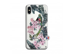 Coque iPhone X/XS Flower Birds