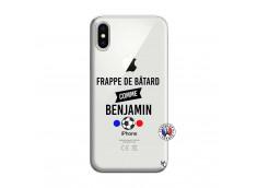 Coque iPhone X/XS Frappe De Batard Comme Benjamin