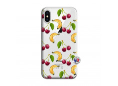Coque iPhone X/XS Hey Cherry, j'ai la Banane