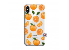 Coque iPhone X/XS Orange Gina
