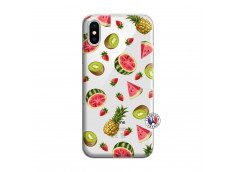 Coque iPhone X/XS Multifruits