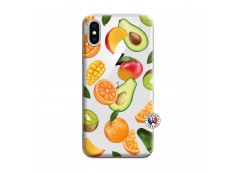 Coque iPhone X/XS Salade de Fruits