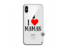 Coque iPhone X/XS I Love Maman