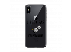 Coque iPhone X/XS J Ai Petanque