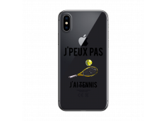 Coque iPhone X/XS J Ai Tennis