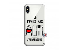 Coque iPhone X/XS Je Peux Pas J Ai Barbecue