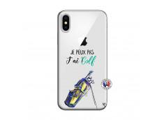 Coque iPhone X/XS Je Peux Pas J Ai Golf