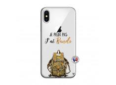 Coque iPhone X/XS Je Peux Pas J Ai Rando