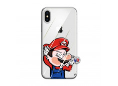 Coque iPhone X/XS Mario Impact