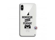 Coque iPhone X/XS Monsieur Mauvais Perdant