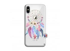 Coque iPhone X/XS Multicolor Watercolor Floral Dreamcatcher
