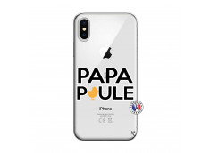 Coque iPhone X/XS Papa Poule